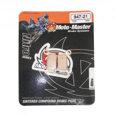 Plaquettes de frein Moto master Nitro sinter KTM 50 SX 65 SX