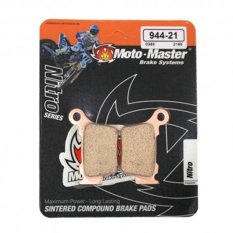 Plaquettes de frein Moto Master Nitro Sinter arrière Brembo