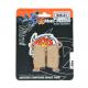 Plaquettes de frein Moto Master Nitro Sinter arrière YZ YZF RMZ KXF GASGAS BETA TM