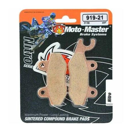Plaquettes de frein Moto Master Nitro Sinter avant Nissin vintage