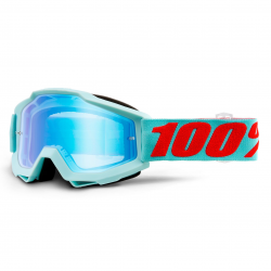 Lunettes 100% Accuri Maldive - Miroir bleu