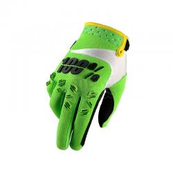 Gants 100% Airmatic lime green