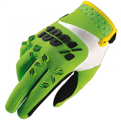 Gants 100% Airmatic lime green