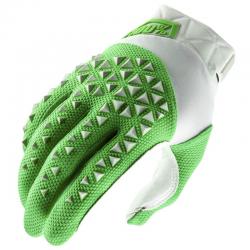 Gants 100% Airmatic Gris / Vert fluo