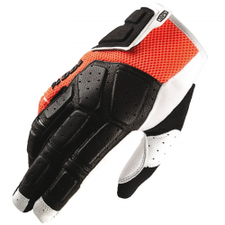Gants 100% SIMI Orange