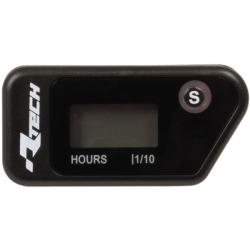 Compteur d'heures électronique effaçable RTECH