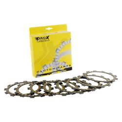 Kit disques d'embrayage garni Prox KTM 125 / 144 / 150 / 200 SX EXC 1998 à 2018 + TC TE 2014 à 2018