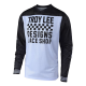 Maillot Troy lee design Prisma blanc