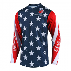 Maillot Troy lee design GP star navy
