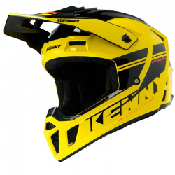 CASQUE KENNY PERFORMANCE PRF 2020 YELLOW BLACK