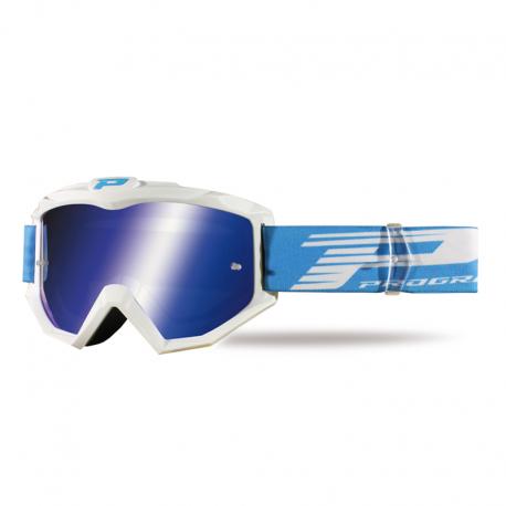 Lunettes PROGRIP ATZAKI blanc / bleu