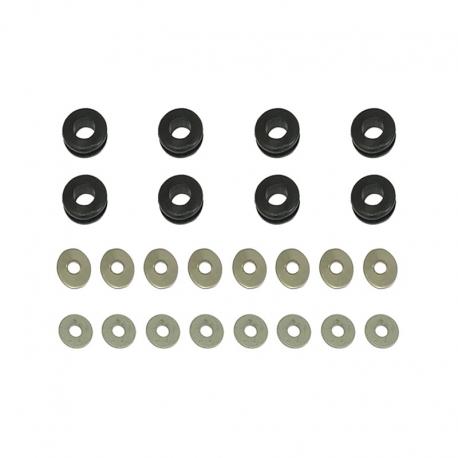 Kit silents blocks et entretoise radiateurs Européennes