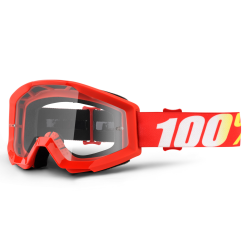 Lunettes 100% Strata Furnace rouge