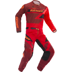 Tenue KENNY Track 2019 Rouge Adulte Taille 28 / M