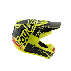 Casque Troy lee design SE4 enfant Polyacrylite Factory yellow TLD - Size YMD