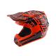 Casque Troy lee design SE4 enfant Polyacrylite Factory orange TLD - Size YMD