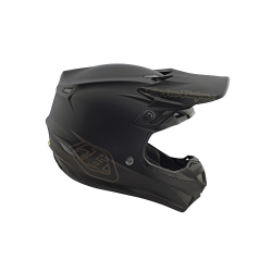 Casque Troy lee design SE4 enfant Polyacrylite Midnight black TLD - Size YLG
