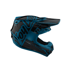 Casque Troy lee design SE4 enfant Polyacrylite Factory ocean TLD - Size YLG