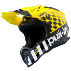CASQUE PULL-IN ADULTE MOTO 2020 TAILLE XS MASTER YELLOW