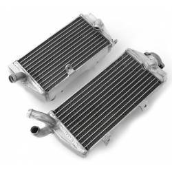 Paire de radiateurs Aluminium Psychic 250 KXF 2004 à 2005 + 250 RMZ 2004 à 2006