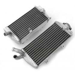 Paire de radiateurs Aluminium Psychic KTM 125 144 150 200 250 300 SX EXC 2008 à 2015 + HVA TE 250 300 2011 à 2013