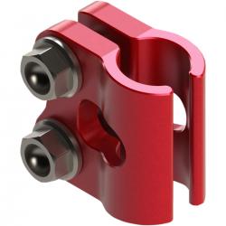 Guide / Pince durite frein avant SCAR