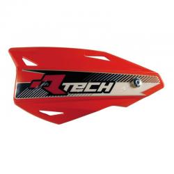 Protège-mains Vertigo Rouge avec kit montage RTECH