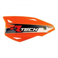 Protège-mains Vertigo Orange fluo avec kit montage RTECH