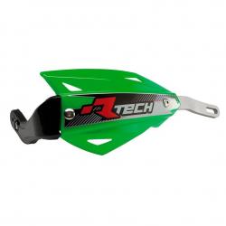 Protège-mains Vertigo Vert alu sans kit montage RTECH