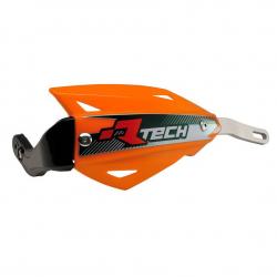 Protège-mains Vertigo Orange alu sans kit montage RTECH