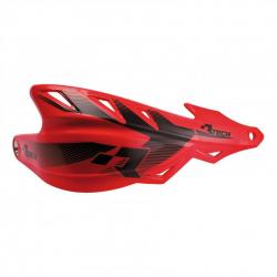 Protège-mains Raptor Rouge avec kit montage RTECH