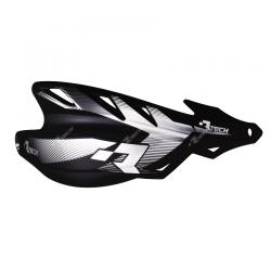 Protège-mains Raptor Noir avec kit montage RTECH