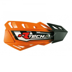 Protège-mains FLX Orange avec kit montage RTECH