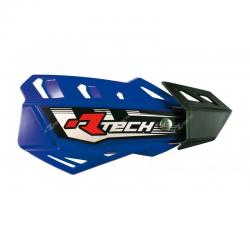 Protège-mains FLX Bleu avec kit montage RTECH