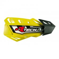 Protège-mains FLX Jaune avec kit montage RTECH