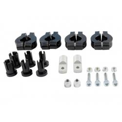 Kit montage RTECH plastique pour guidon
