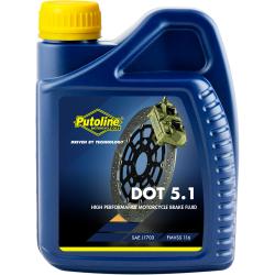 Liquide de frein 500 ml Putoline DOT 5.1