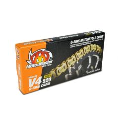 Chaîne Moto Master 520 Joints toriques 120 maillons