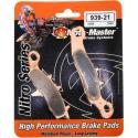 Plaquettes de frein Moto Master Nitro Sinter avant 85 KX 85 RM