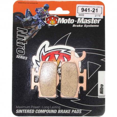 Plaquettes de frein Moto Master Nitro Sinter avant 65 KX 65 RM