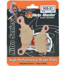 Plaquettes de frein Moto Master Nitro Sinter arrière 85 RM 2005 à 2021