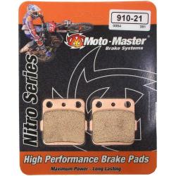 Plaquettes de frein Moto Master Nitro Sinter arrière 65 KX 65 RM