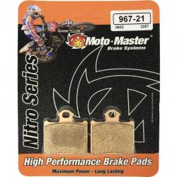 Plaquettes de frein Moto master Nitro sinter arrière 85 SX 85 TC 85 MC