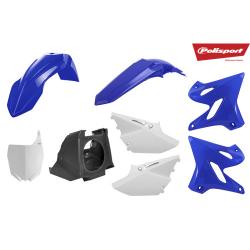 Kit plastiques Restyle YZ 125 250 2002 à 2017 Polisport