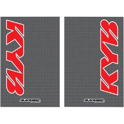 Stickers de protection fourche KAYABA Carbone