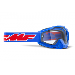 Masque FMF Rocket Blue - écran tranparent