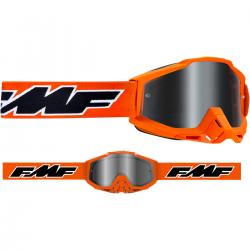 Masque FMF Rocket Orange - écran argent miroir