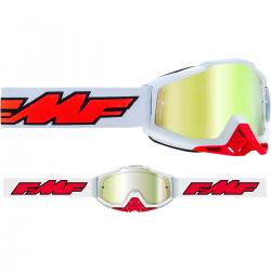 Masque FMF Rocket White - écran or réaliste