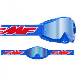 Masque FMF Rocket Blue - écran Bleu miroir