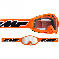 Masque FMF Rocket Orange - écran tranparent